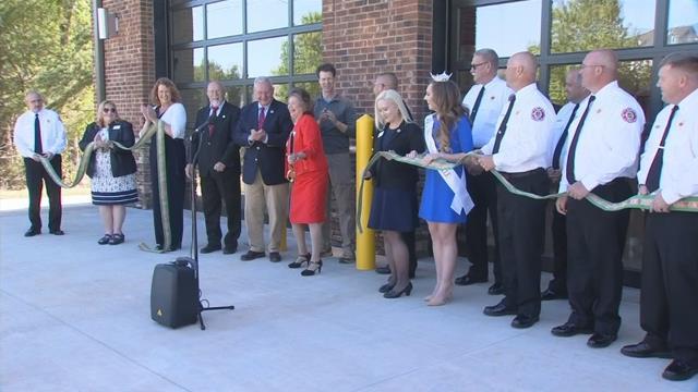 New fire station in Simpsonville (Apr. 30, 2018/FOX Carolina)