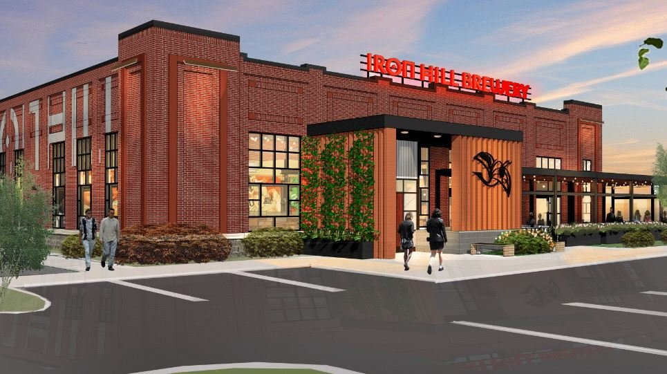 Concept art of Iron Hill Brewery Greenville location (Source: Iron Hill Brewery)