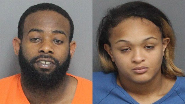 May 2018 mugshots of Randy Burnside Jr. and Aliyah Stewart (Source: Laurens County Detention)