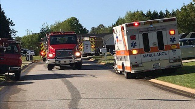 Fire crews on scene of house fire on Monti Drive in Anderson Co. (5/1/18 FOX Carolina)