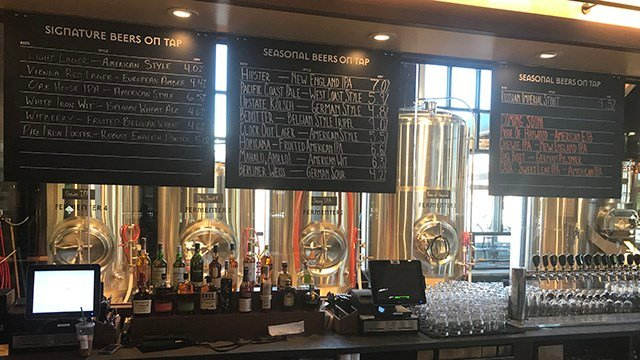 Iron Hill Brewery Greenville. (5/1/18 FOX Carolina)