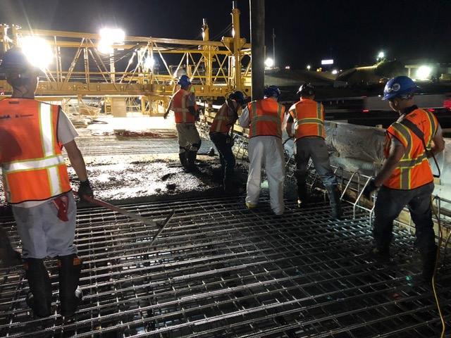 Bridge construction on the Gateway Project (Source: 85-385 Gateway)