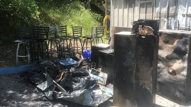 The fire caused $24,000 in damage (May 2, 2018/FOX Carolina)