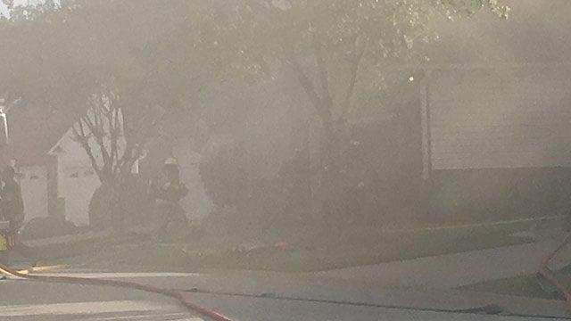 Crews respond to fire at Greenville home (FOX Carolina/ 5/3/18)