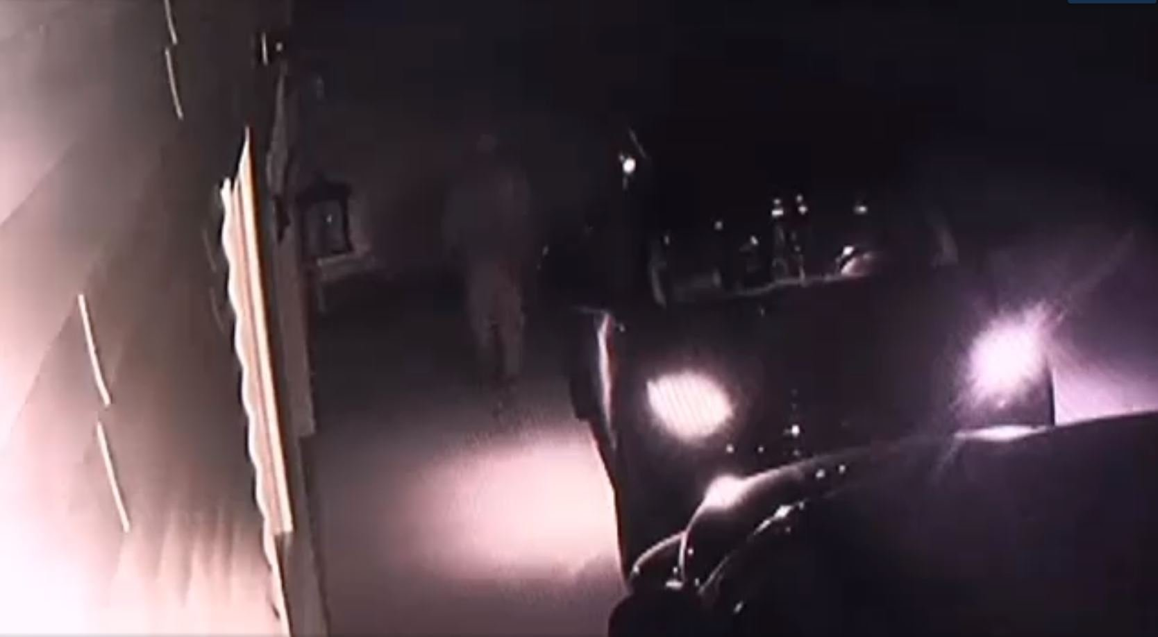 Suspect in auto break-ins caught on camera (Source: iWitness)