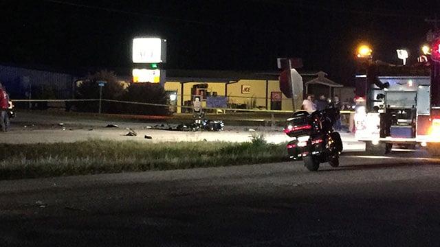 Scene of fatal Greenwood Co. crash (FOX Carolina/ 5/5/18)