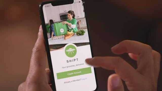 Shipt app for grocery delivery (Source: Shipt)