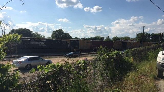 Greenville Amtrak station. (5/8/18 FOX Carolina)