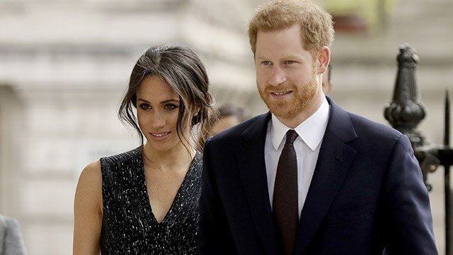 Meghan Markle and Prince Harry (Source: Associated Press)