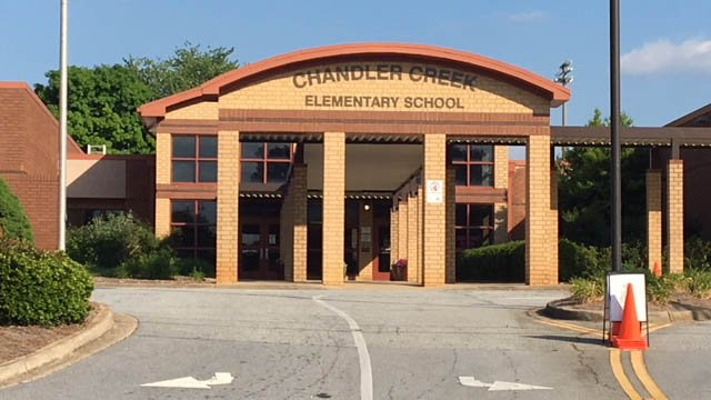 Chandler Creek Elementary. (FOX Carolina/May 9, 2018).