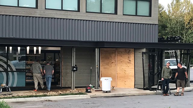 Police say victim seriously injured in crash into Asheville building (FOX Carolina/ 5/11/18)