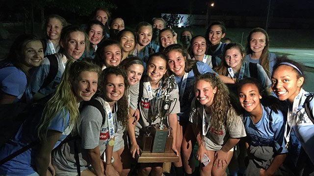 J.L. Mann girls soccer team secures 5A state title victory (FOX Carolina/ 5/12/18)