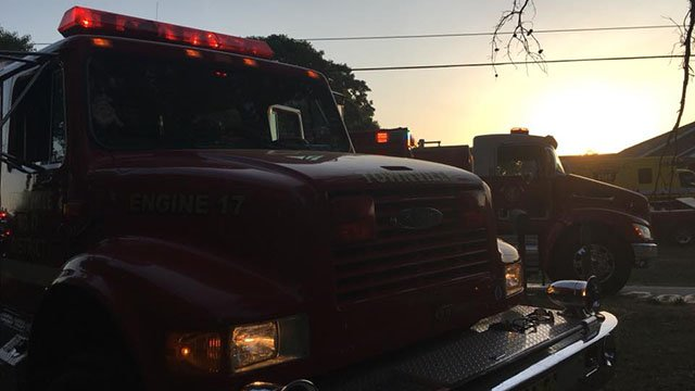 Crews respond to structure fire in Townville (FOX Carolina/5/13/18)