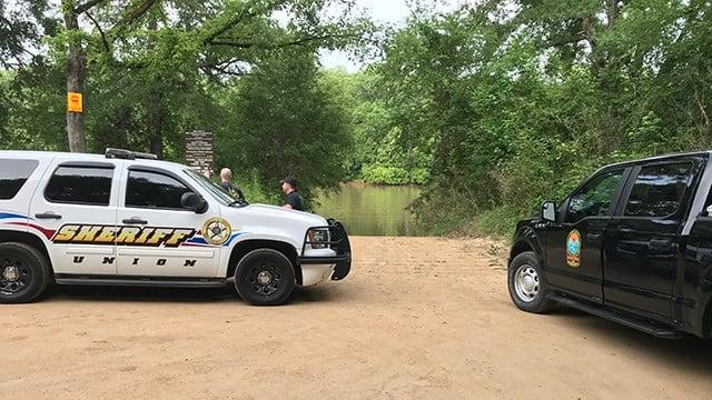 Scene of search for elderly man in Union Co. (5/14/18 FOX Carolina)