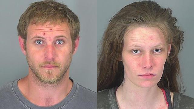 Michael Tucker and Venda Dill (Source: Spartanburg Co. Detention)