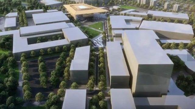 University Ridge redevelopment project renderings. (Source: Foster + Partners)