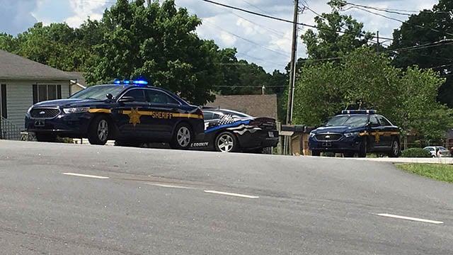 Deputies on scene at Jacobs Road and Daisy Drive. (FOX Carolina/May 17, 2018).