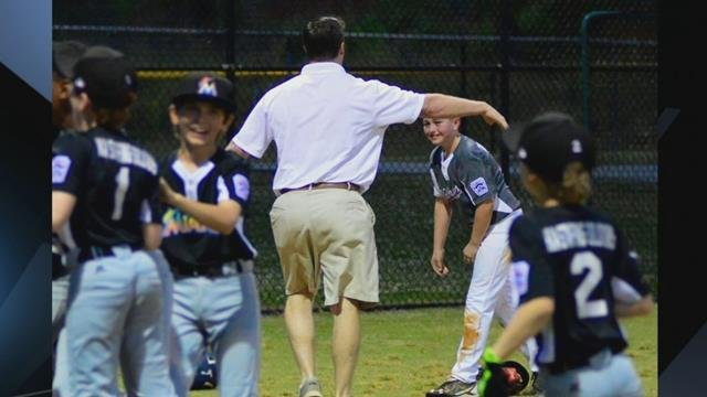 Touching moments caught on camera at Northwood Little League championship