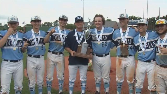 Dorman downs River Bluff to claim the AAAAA baseball state title