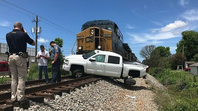 Train crash in Elberton (Source The Elberton Star)