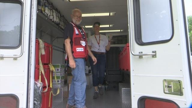 Red Cross distributes meals, supplies to WNC mud slide victims