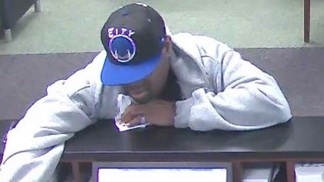Anderson bank robbery suspect (Source: Anderson PD)