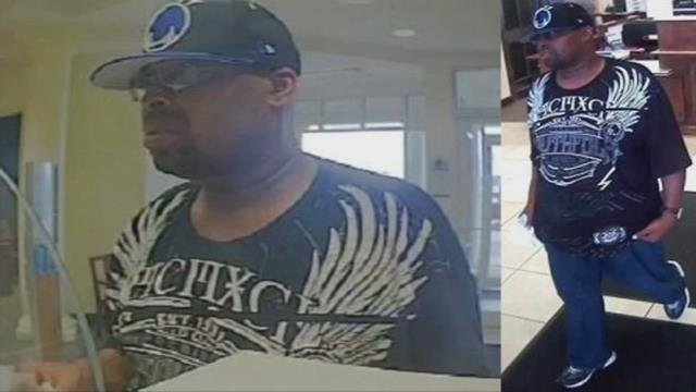 Anderson police searching for serial bank robber