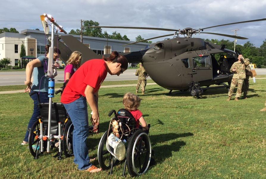 National Guard troops visit Shriners patients (FOX Carolina/ May 23, 2018)