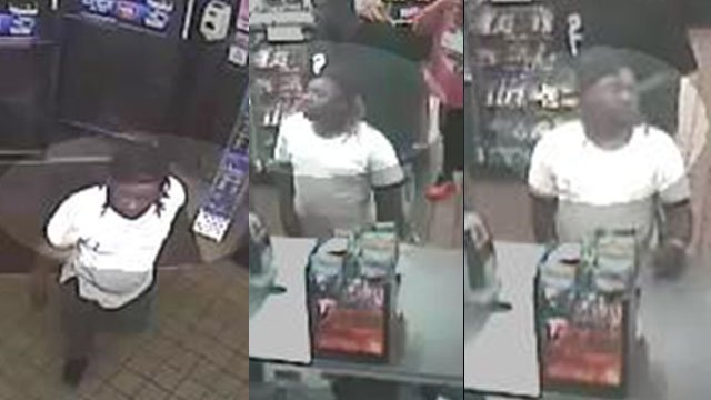 Surveillance images of the person of interest (Source: CCSO)