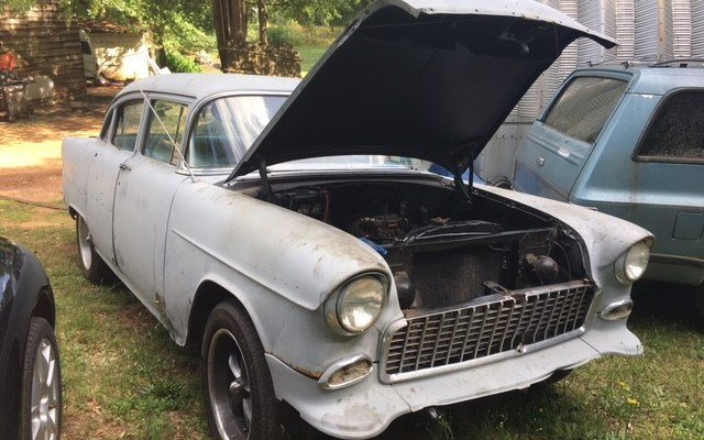 1955 Chevy Bel Air vandalized (May 23, 2018/FOX Carolina)