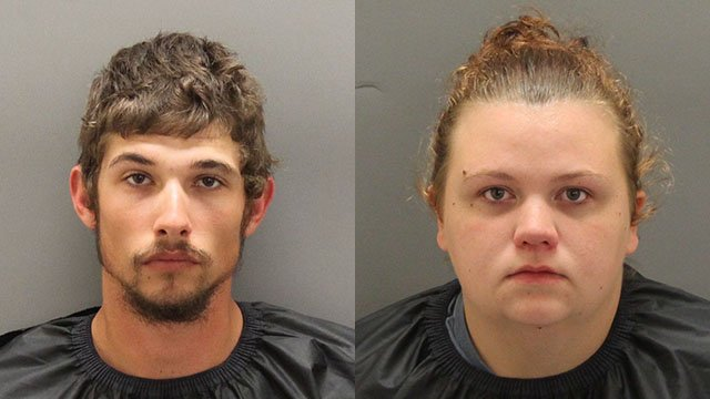 Christopher Adam Holbrooks (left) and Anna Marie Brown (right) (Source: OCSO)