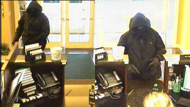 Bank robbery suspect (Source: GCSO)