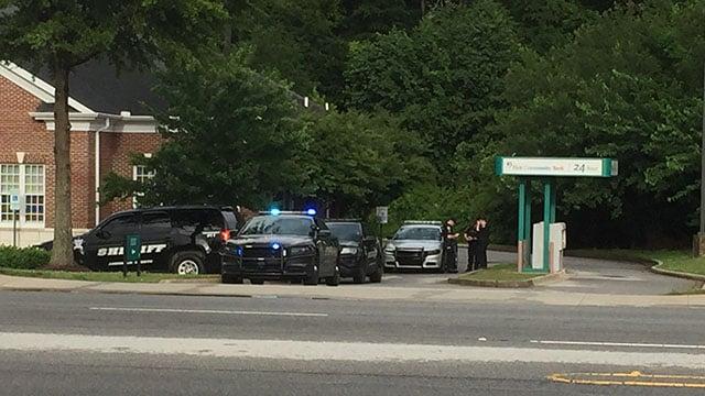 Scene of bank robbery in Piedmont (Source: GSCO)
