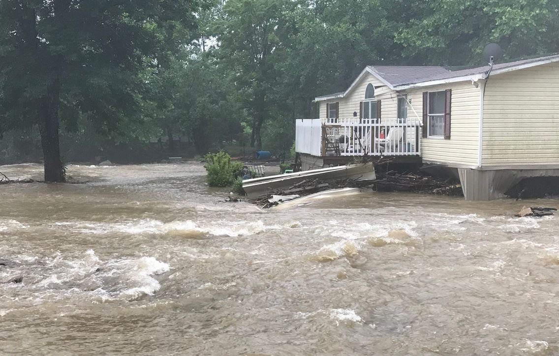 Flooding in Black Mountain (Source: Nathan West)