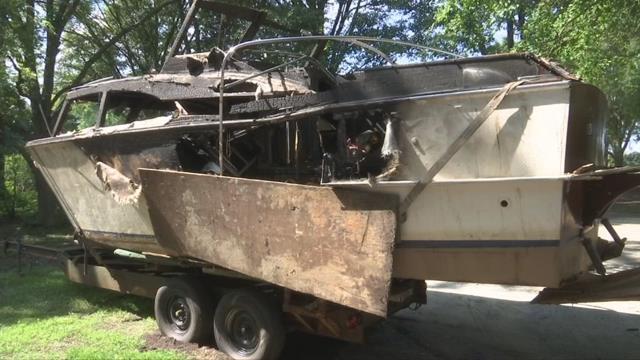 The boat named Mar-Be-Gln (FOX Carolina)