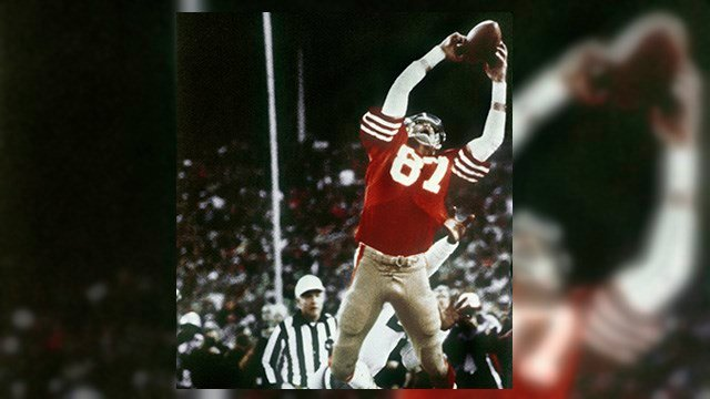 "Dwight Clark, ""The Catch"". (Source: AP Images)"