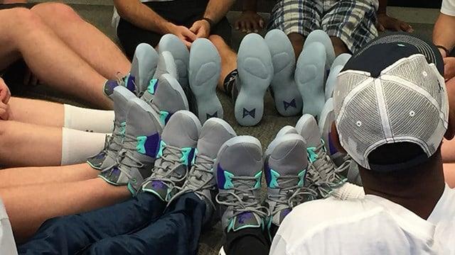 Finish Line donates new shoes to SC Special Olympics Basketball Team. (6/4/18 FOX Carolina)