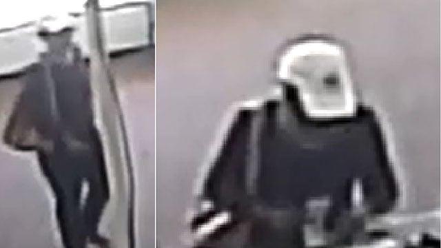 Surveillance photos of the suspect (Source: GCSO)