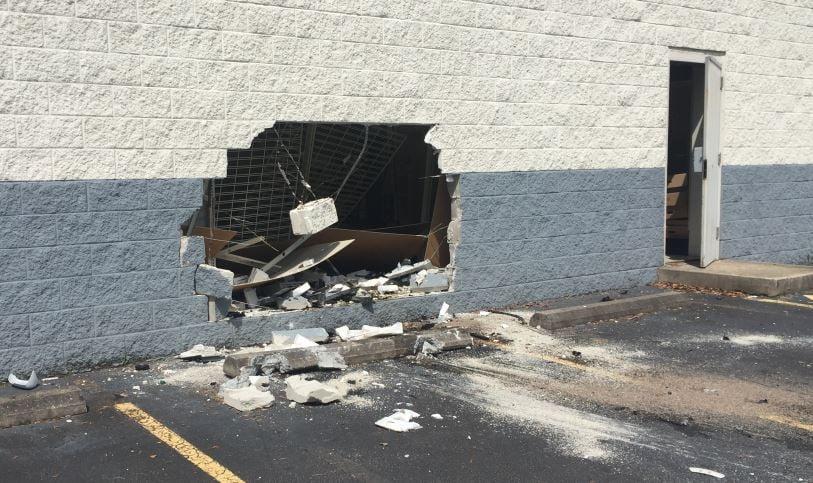 Damage caused to the building (FOX Carolina/ June 5, 2018)