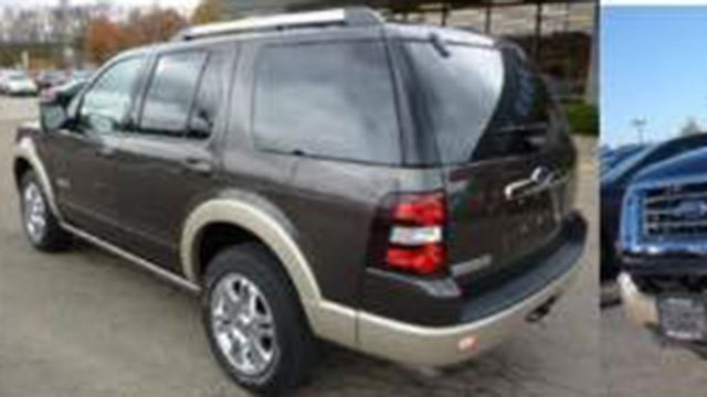 Ford Explorer similar to one driven by Ken Davis (Source: Mauldin PD)