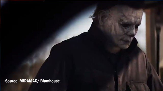 Still frame from the 'Halloween' trailer (Source: Miramax/ Blumhouse)