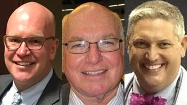 Left to right: Todd Crawford, Daniel McKnight and Scott Dawson (Source: Floyd Mortuary)