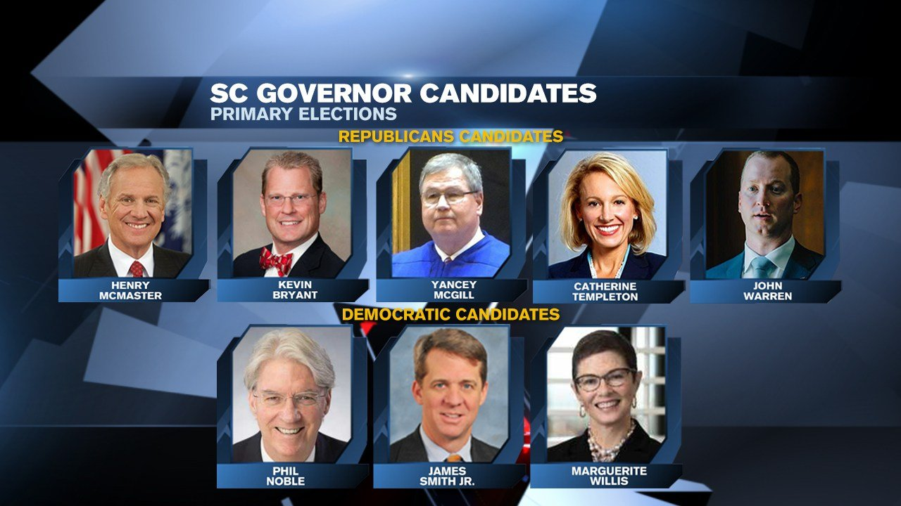 Trump a factor in SC races as 5 states hold primaries