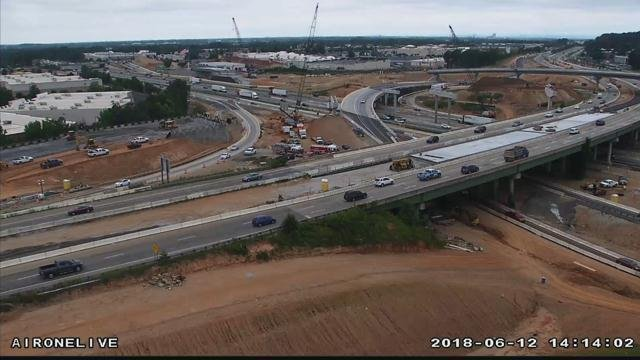 Gateway Project traffic camera (file/FOX Carolina)
