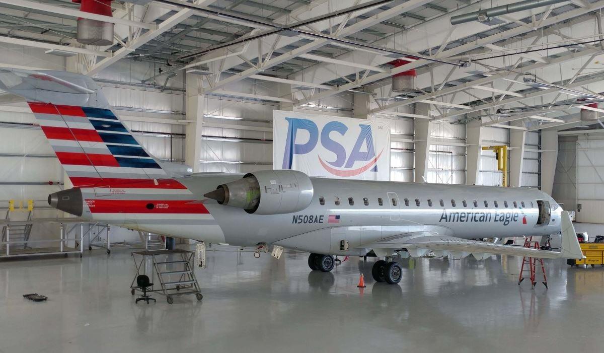 American Eagle passenger jet (Source: PSA Airlines)