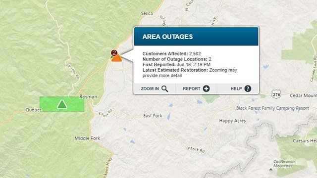 Duke Energy Outage Map.