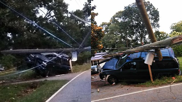 One dead after crash into utility pole in Greenville (Source: iWitness)
