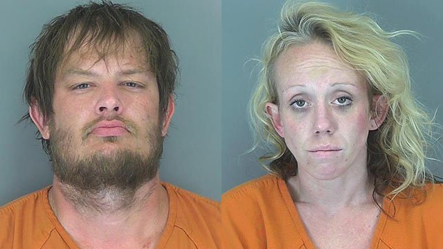 Steven Scruggs and Tabitha Cook (Source: Spartanburg Co. Sheriff's Office)