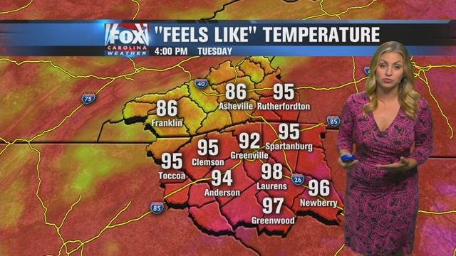 Nicole: Toasty Tuesday ahead with isolated PM storms possible
