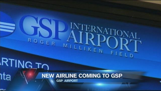 GSP to announce new airline service Tuesday